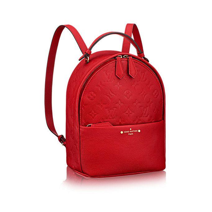 4852a6309c Sorbonne Backpack Cuir Monogram Empreinte Femme Sacs à main | LOUIS ...