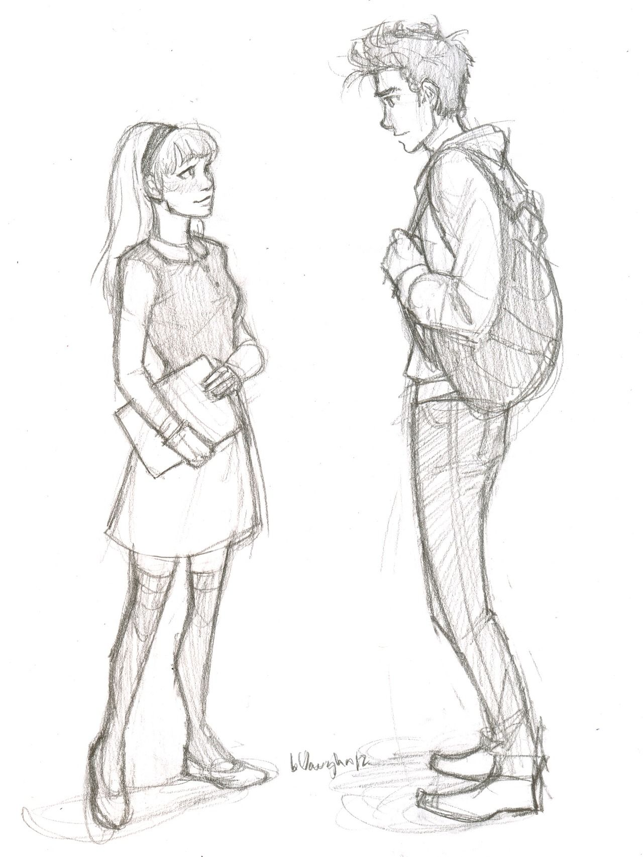 Peter Parker and Gwen Stacey ~BurdgBug(brigid vaugn)