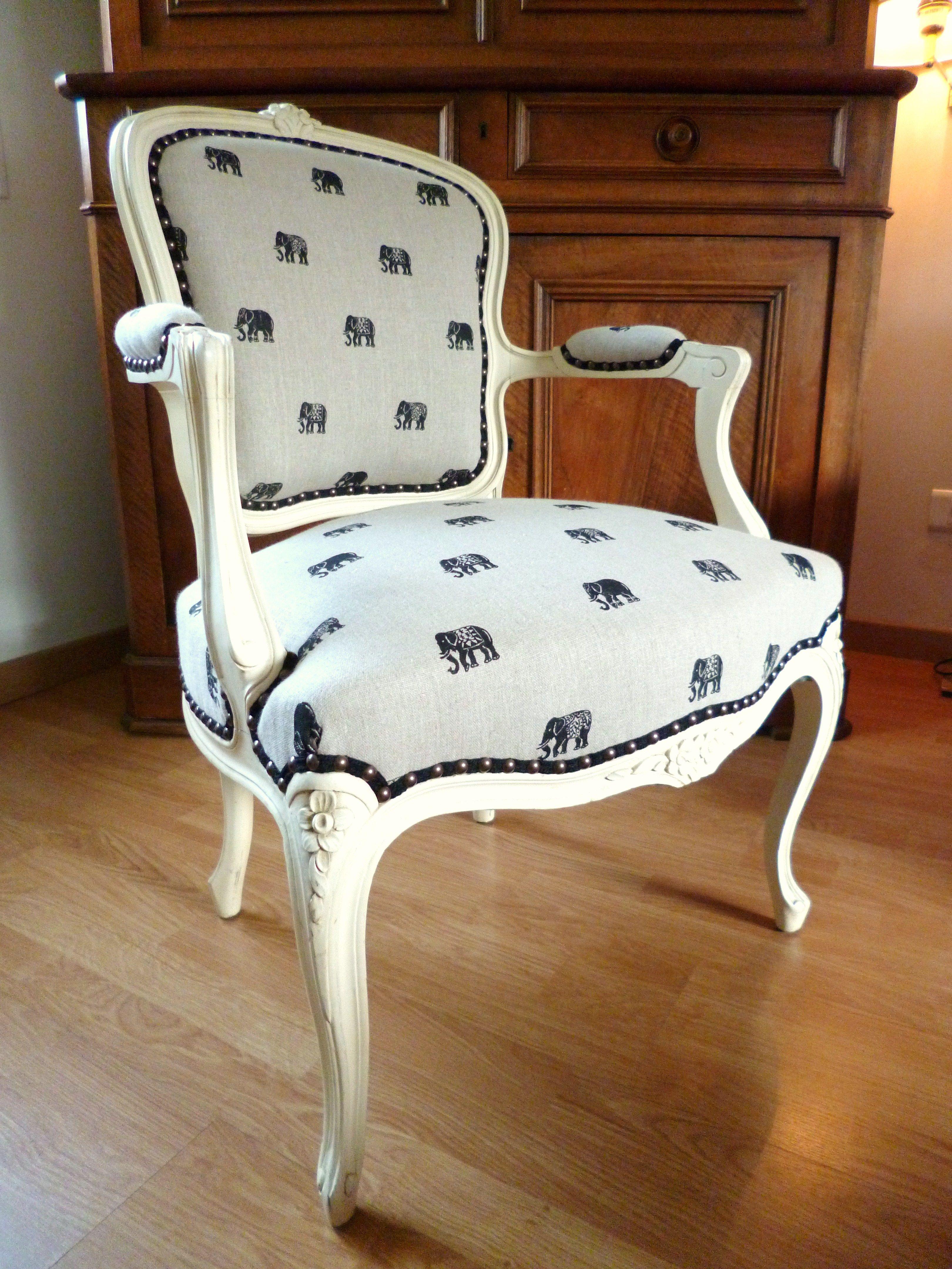 Fauteuil Cabriolet De Style Louis XV Réfection Complète Tapissier - Formation decorateur interieur avec tapisser fauteuil crapaud