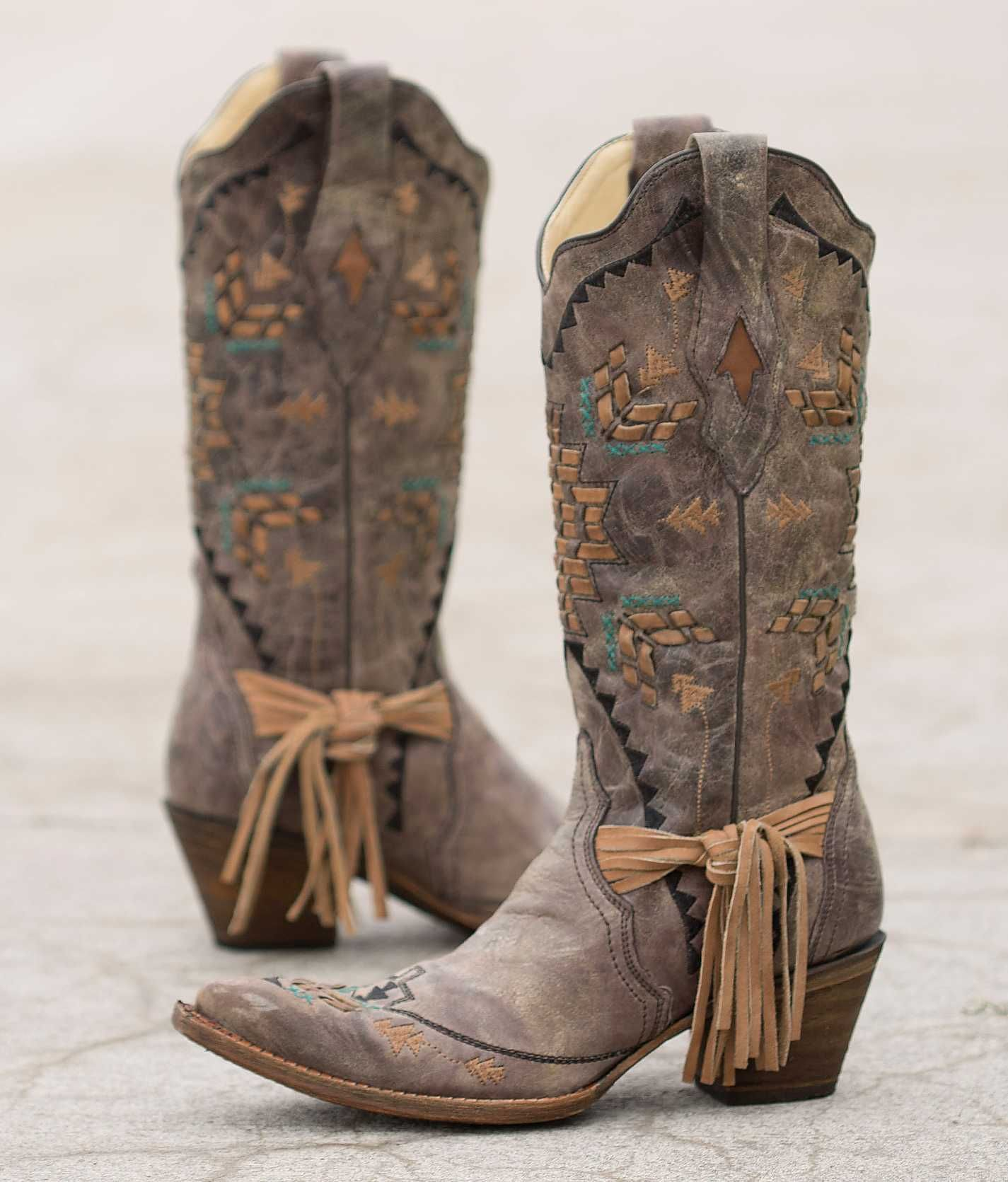 Corral Embroidered Cowboy Boot - Women's Shoes | Buckle | Cowgirl ...