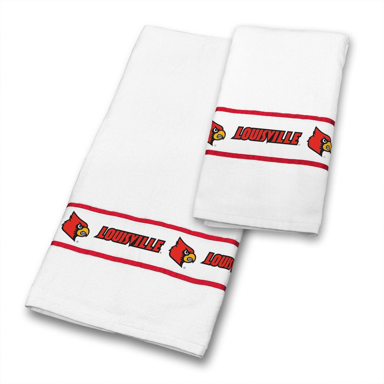 Louisville Cardinals NCAA Bathroom & Hand Towels Set | NCAA ...