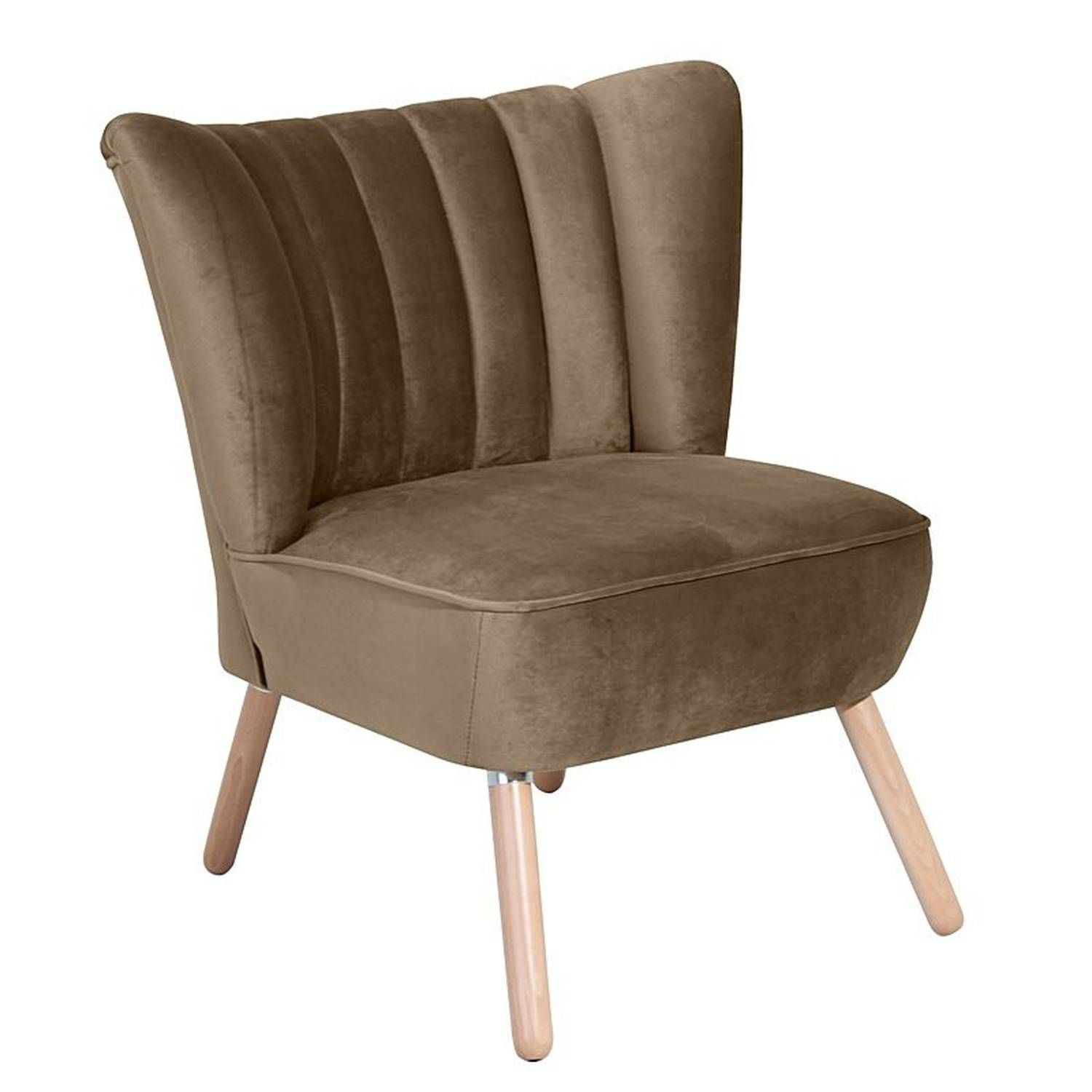 Sessel Alessandro 23 Samtvelours Farbe Sahara Sitzhärte Fest B 70cm T 66cm H 80cm Sessel Stressles Upholstered Furniture Furniture Living Room Accents