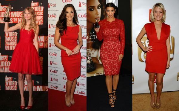 1132a8a79645 Qué zapatos usar con un vestido rojo - unComo | Outfits | Vestidos ...