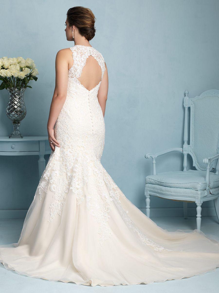 For the Plus Size Bride: Allure Bridals on TheCurvyFashionista.com ...