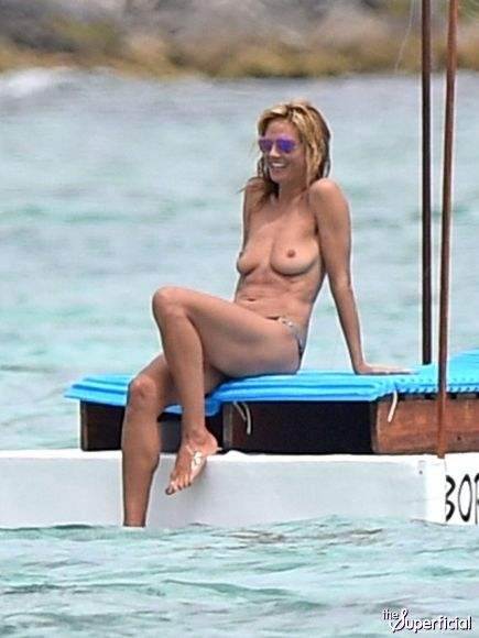 Heidi Klum  Tulum  Pinterest  Heidi Klum, Nude And Naked-7483