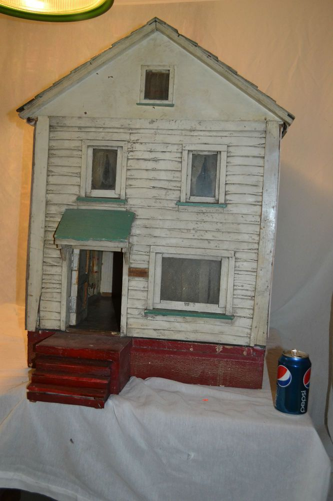 Folk Art  Miniature Dollhouse Doll House Picture
