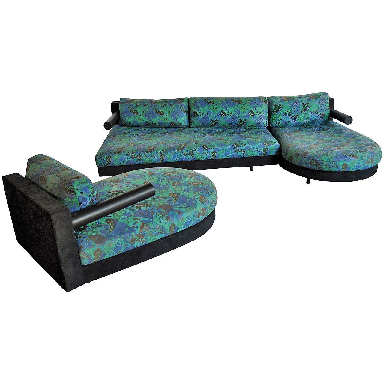 B B Italia Sity Modular Sectional Sofa And Chaise Lounge Set By Antonio Citterio Modular Sectional Sofa B B Italia Antonio Citterio