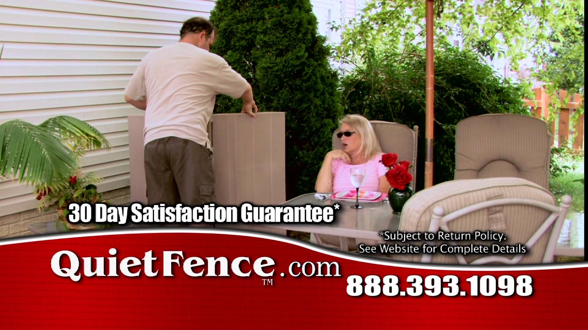 HOW TO GET RID OF AIR CONDITIONER NOISE WITH QUIET FENCE