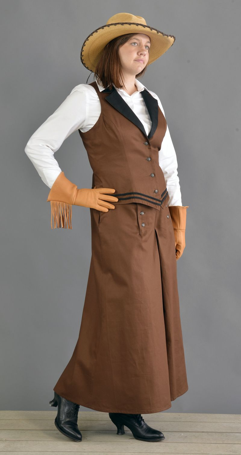 Western Riding Skirt Made in USA by Cattle Kate Western