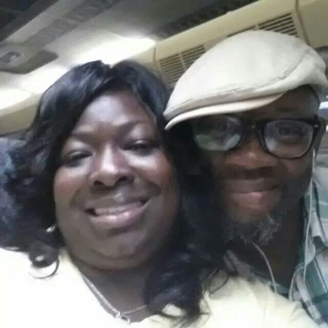 Cousin Ericka and her husband