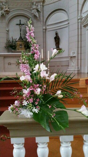 Liturgical Flower Arrangement Church Altar Church Flower Arrangements Church Flowers Altar Flowers