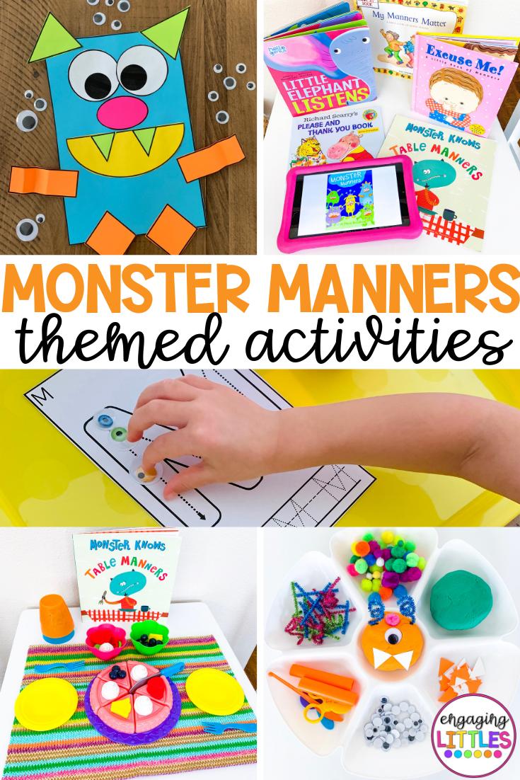 Manners Worksheets For Kindergarten