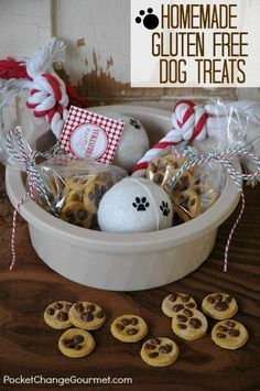 10 Recipes for WoofTastic Homemade Dog Treats Diy dog
