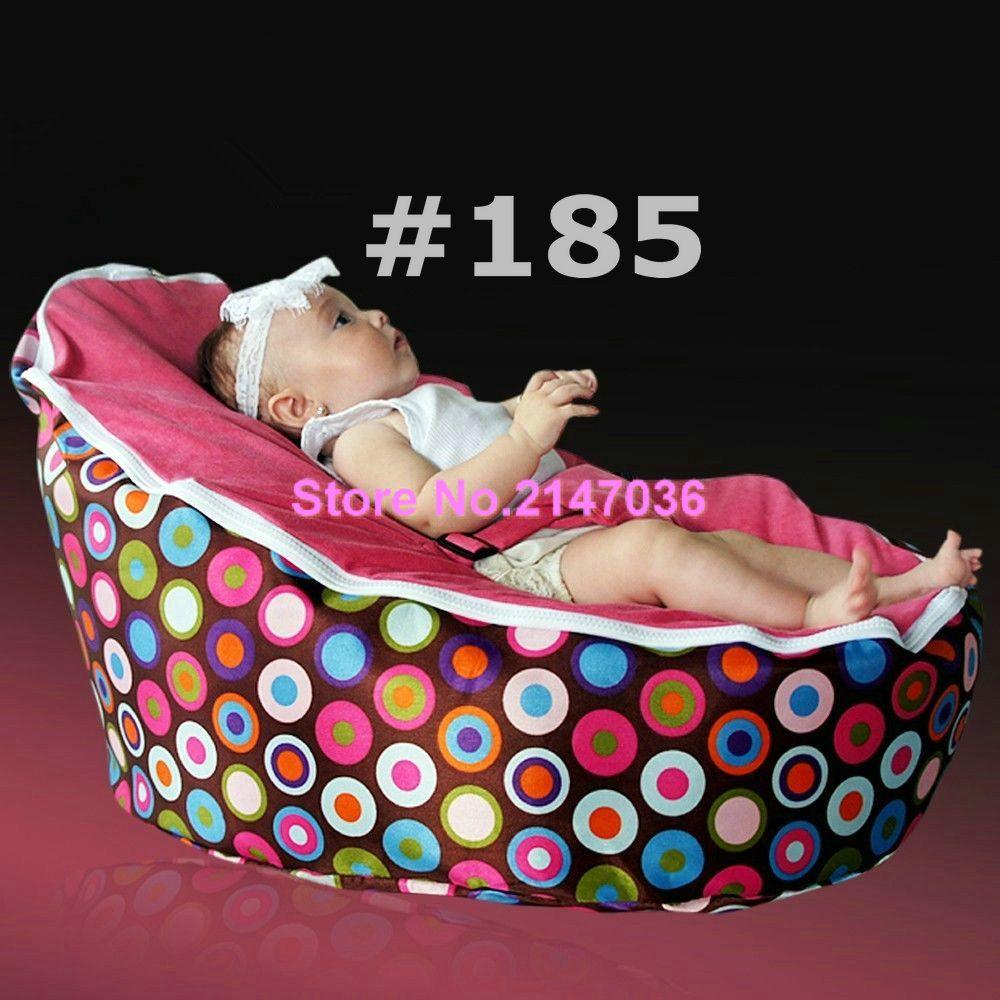 Popular Sprinkles cream seat Polyester Baby Bean Bag for Sleep Baby ...
