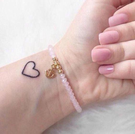100 Really Cute Small Girly Tattoos Small Heart Tattoos Small Girly Tattoos Girly Tattoos