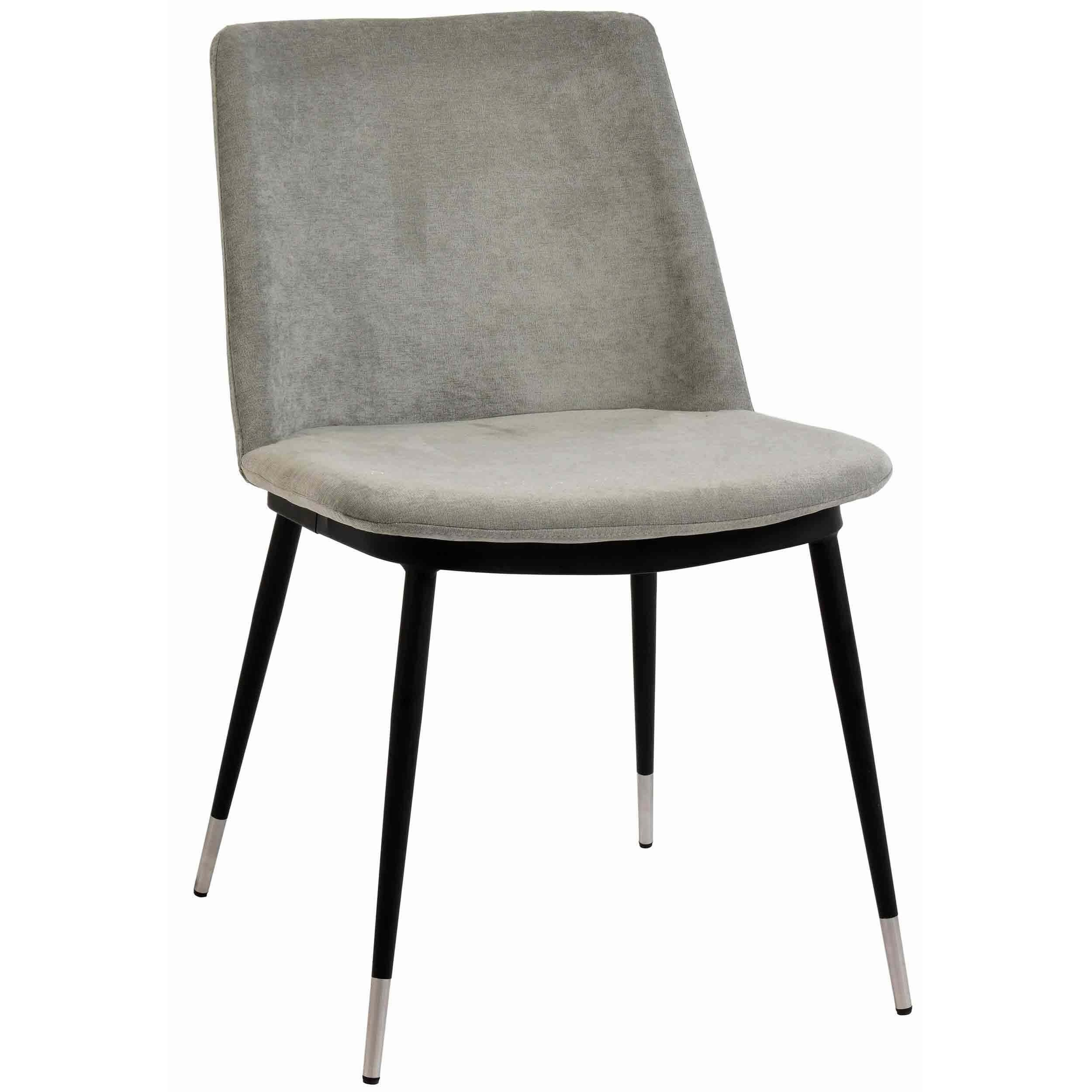 Evora Dining Chair Grey Set Of 2 Chairs Benches Dining