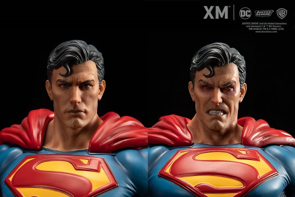 Xm Superman Goes Online 06 02 2018 At 19 00 O Clock Germantimezone On Our Homepage Www Xm Studios Shop And Will Be Closed A Personagens 3d Esculturas Figuras