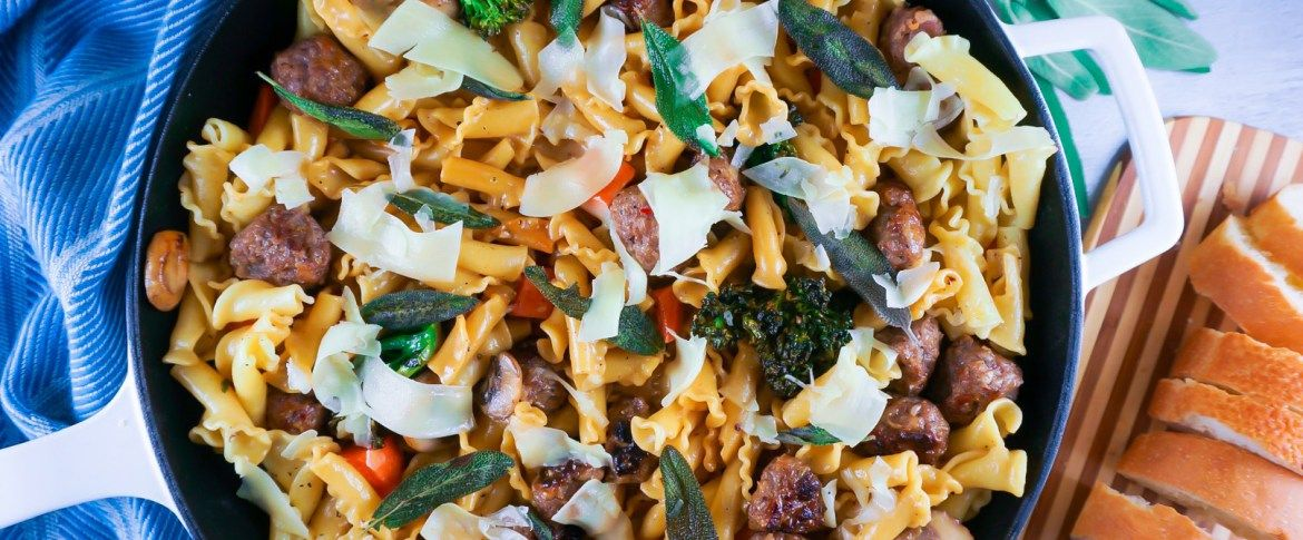 Sage and Butternut Pasta - Love and Risotto