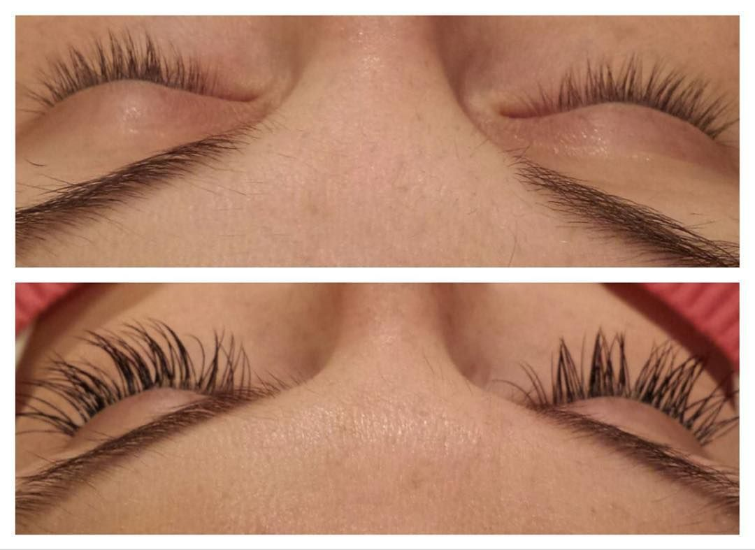 Before After Of Lash Bomb Eyelash Extensions Done By Elah At Our