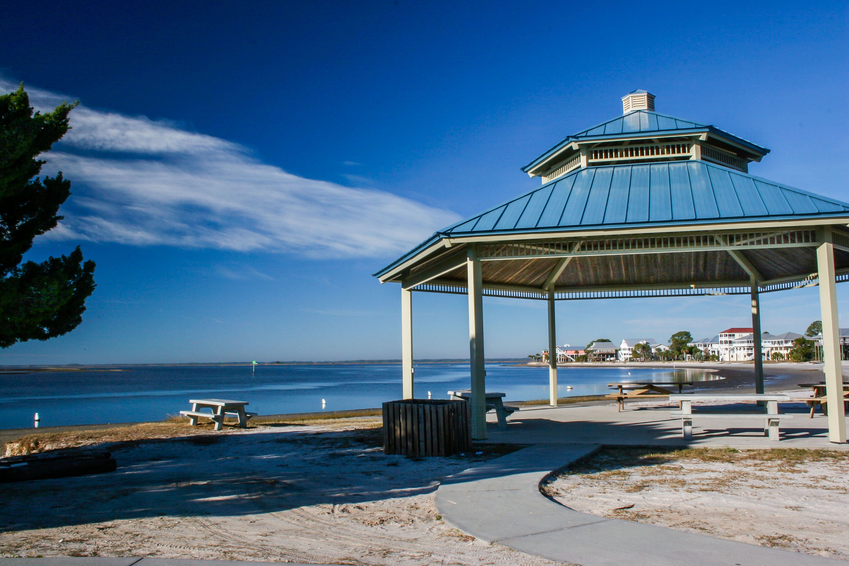 Shell Point Beach Is A Small Public Located On The Apalachee Bay In
