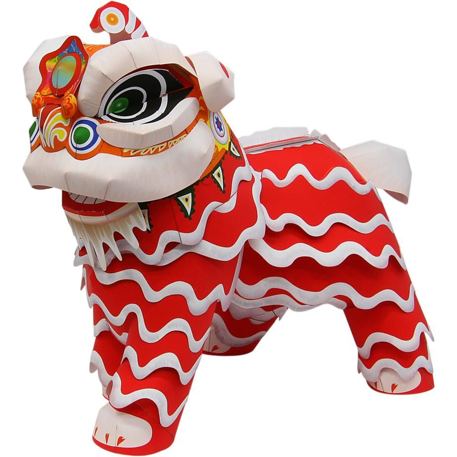 Lion dancedecorativepaper craftchinese new yearasia oceania lion dancedecorativepaper craftchinese new yearasia oceania jeuxipadfo Images