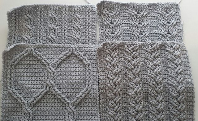 The beautiful texture of cables is not only for knits. These ...