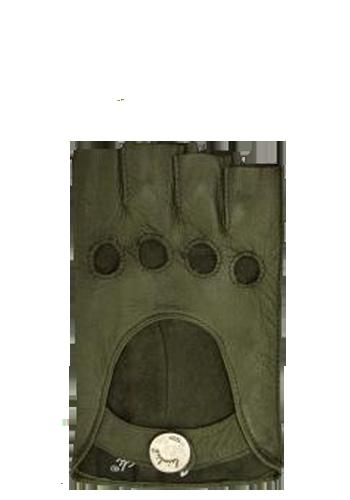 Vingerloze autohandschoenen Laimock donkergroen