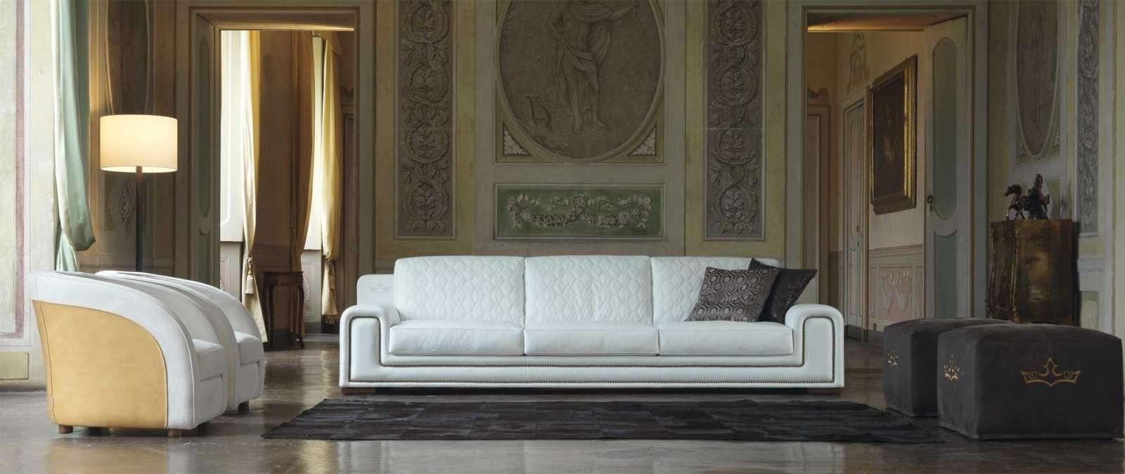 Elegant Leather Sofa MAJESTIC By Formenti