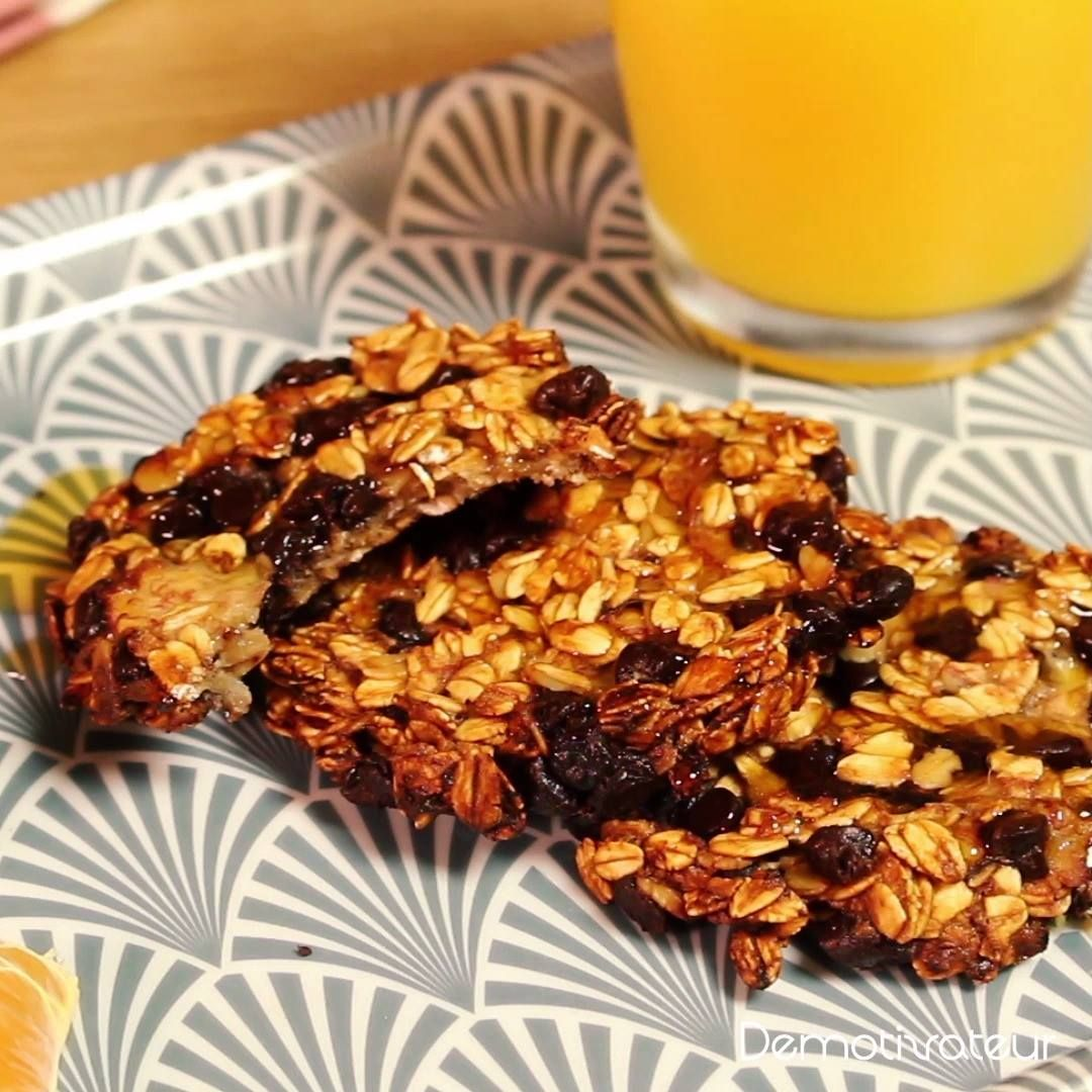 Cookies healthy à la banane