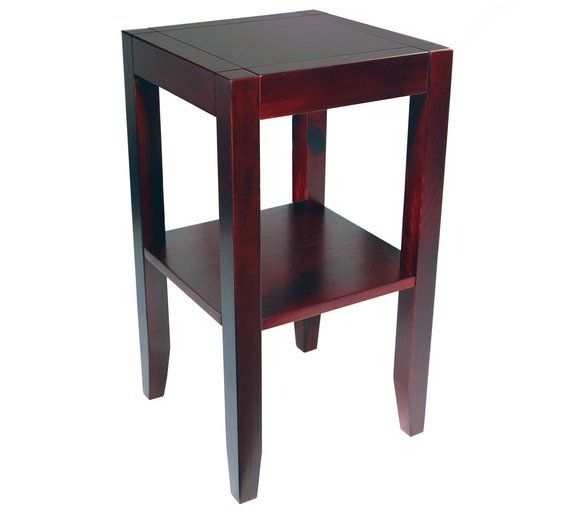 Buy Wood Veneer End / Telephone Table   Wenge Effect At Argos.co.uk