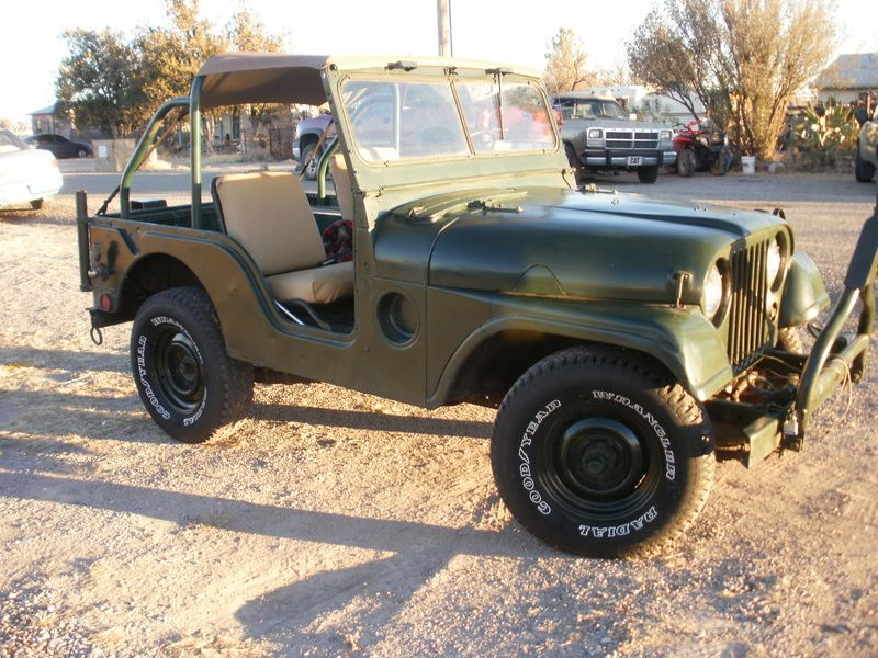 1962 Jeep Kaiser M38a For Sale By Owner San Simon Az
