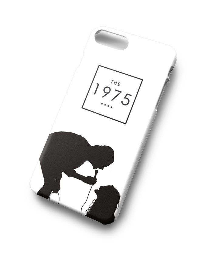 the 1975 robbers silhouette iphone case
