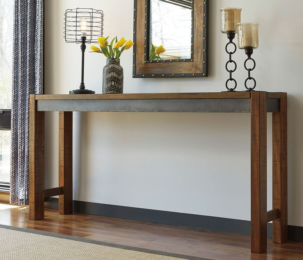 Long kitchen tables  Torjin Long Counter Table Only  hill house  media room  Pinterest