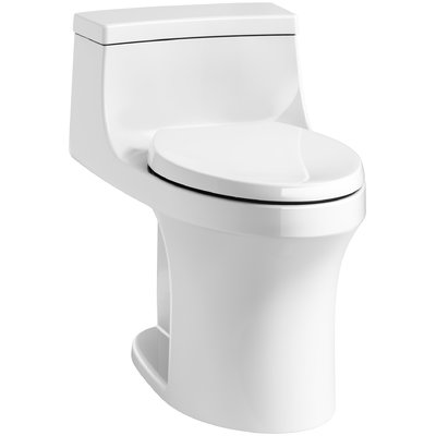 Kohler San Souci Comfort Height 1 28 Gpf Elongated One Piece Toilet Kohler Toilet Toilet Wall Mounted Toilet