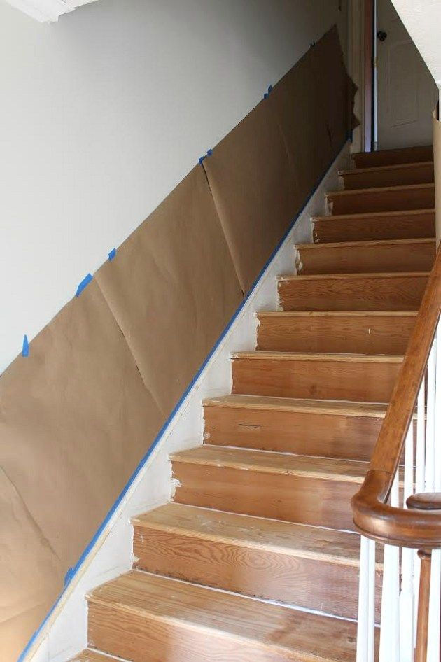 Best A Budget Friendly Staircase Makeover Staircase Makeover 400 x 300