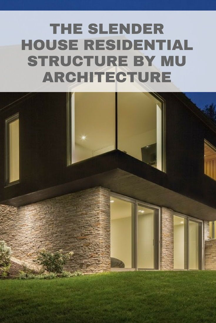 storey modern house with abundant floor to ceiling window glass and sliding doors residential architecture homedesign also the slender structure by mu hs eqd rh pinterest