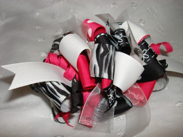 stiff hair bow creation instructions. Korker hair bows. | Crafts ...