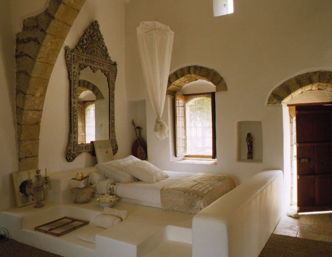 Une chambre orientale dans un palais libanais  Ideas for the House en 2019  Chambre orientale