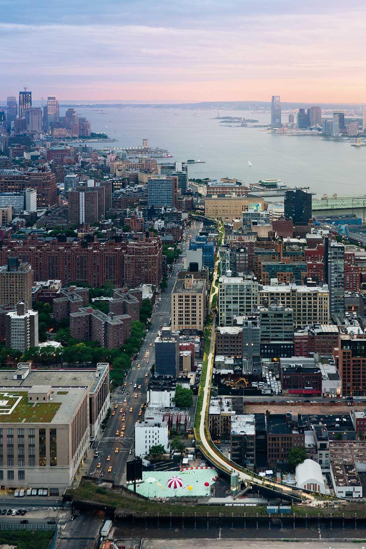 High Line Park In New York Detail Inspiration Usa Reise New York Stadtebau