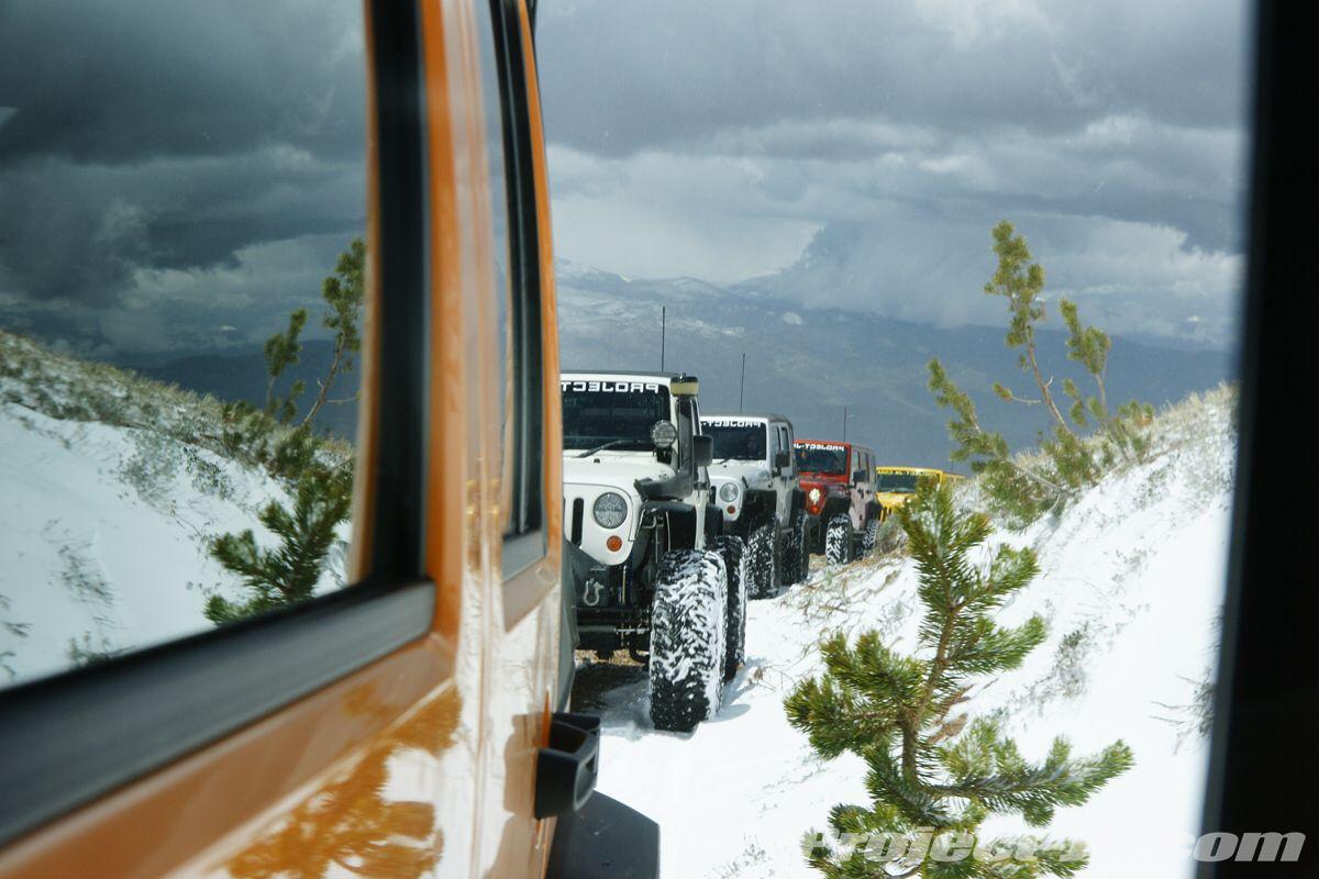 Jeep in winter jeepdreamsusa jeep life jeep girl