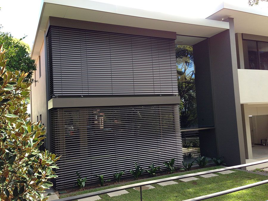 Retractable External Venetian Blinds Louvres Amaris Pinterest