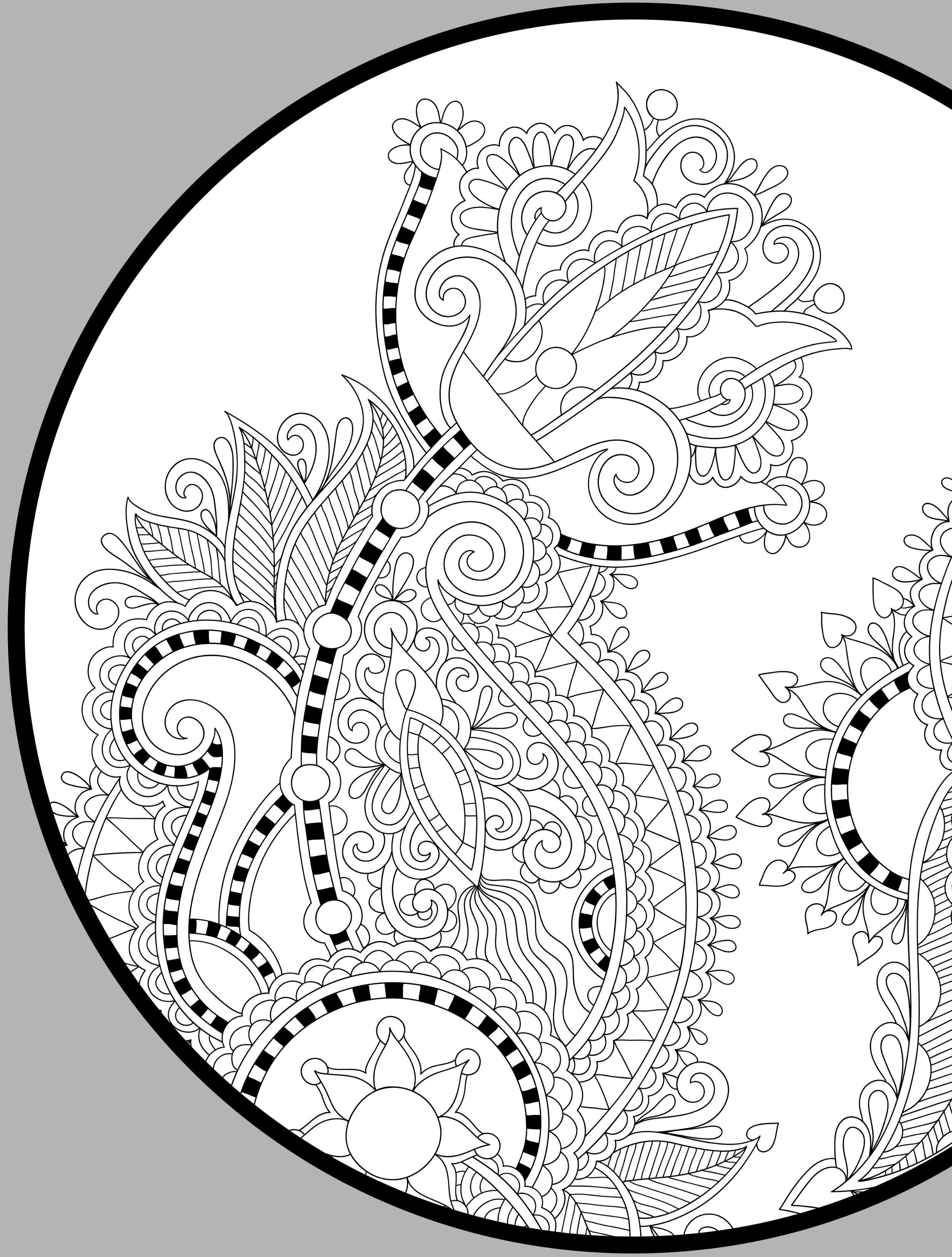 Pin de Tina Mead en Coloring Pages | Pinterest | Mandalas