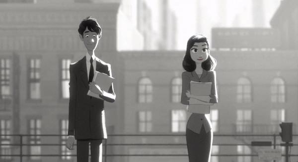 Paperman, le court-métrage de Disney, est en ligne