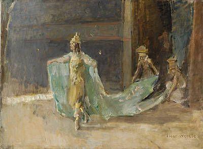 Isaac Israëls - Danseres in het Scala theater te Den Haag