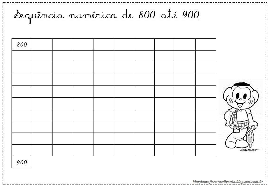 Sequencias Numericas Atividades De Matematica Fichas De