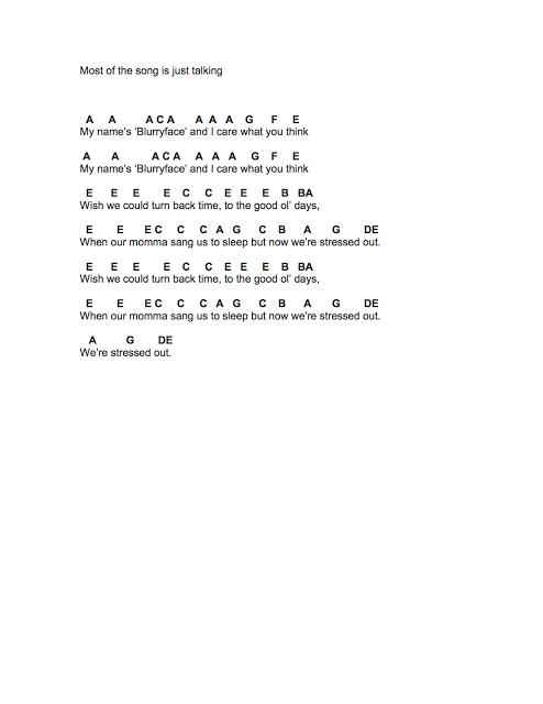 Flute Sheet Music Twenty One Pilots Piano Chords Pinterest Musik