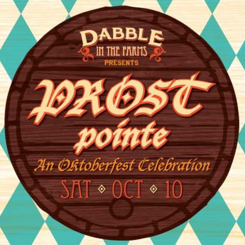 For those over 21!  Be sure to check out #ProstPointe today! Revel in the tastes of the autumn season with #Oktoberfest and fall beer varieties premium fall wine & spirit selections and beer-inspired street eats from Metro Detroits tastiest food trucks plus live music and games. 21 welcome.  Tix - http://ift.tt/1WTqLm7 Info - www.dabblegp.com