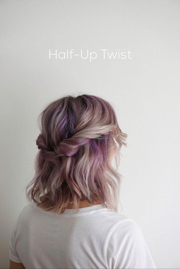ways to style shoulderlength hair hair pinterest hair hair