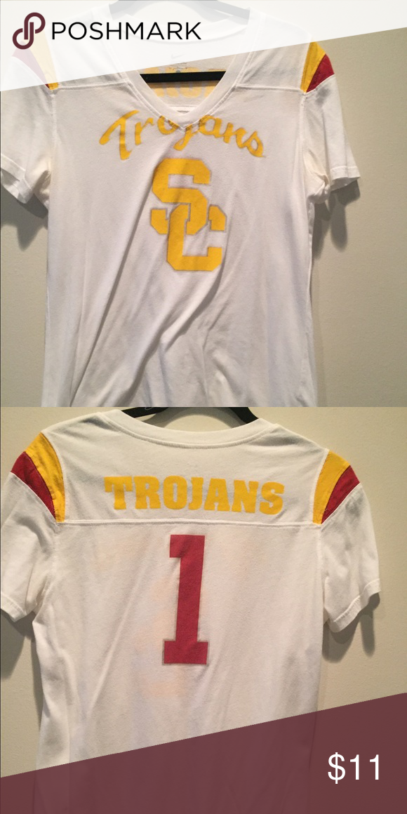2a1e190a USC nike tee comfortable authentic trojan fan wear Nike Tops Tees - Short  Sleeve