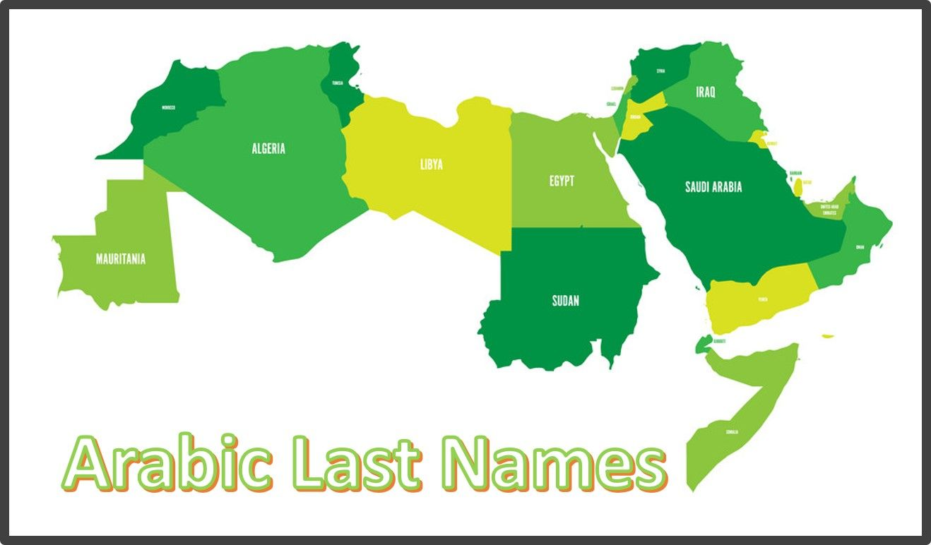 Arabic Last Names Names Scandinavian Names Names With Meaning
